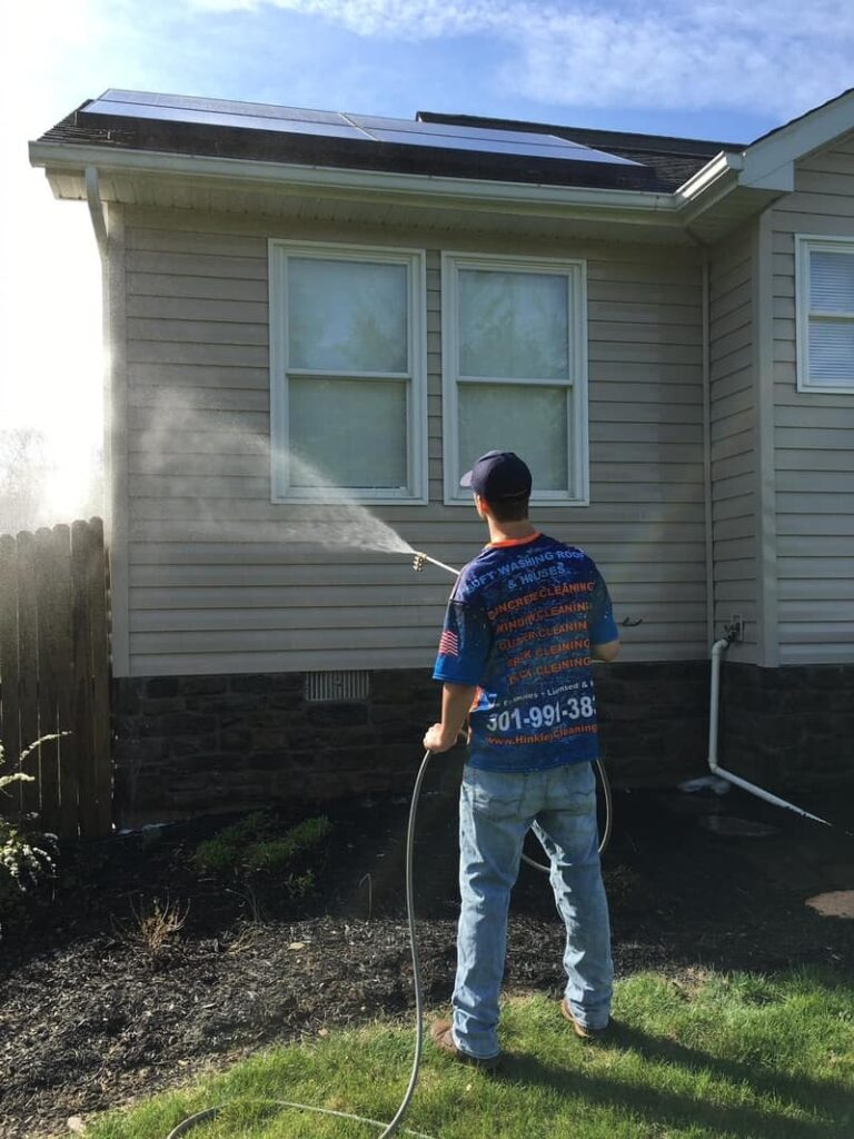 PRESSURE WASHING IN HAGERSTOWN, MD by HINKLE