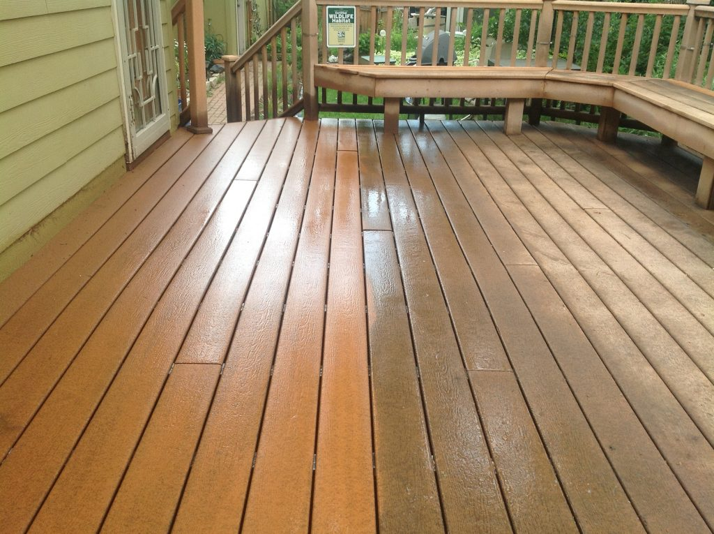 deck cleaning and restoration hagerstown